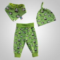 Kinderkleidung-Geschenkset (grün)